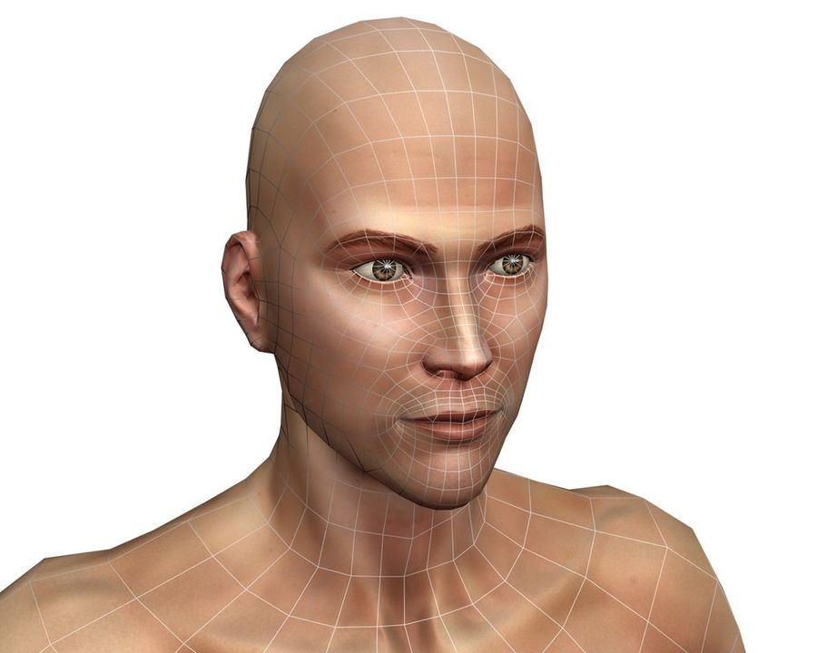 Male human character royalty-free 3d model - Preview no. 9