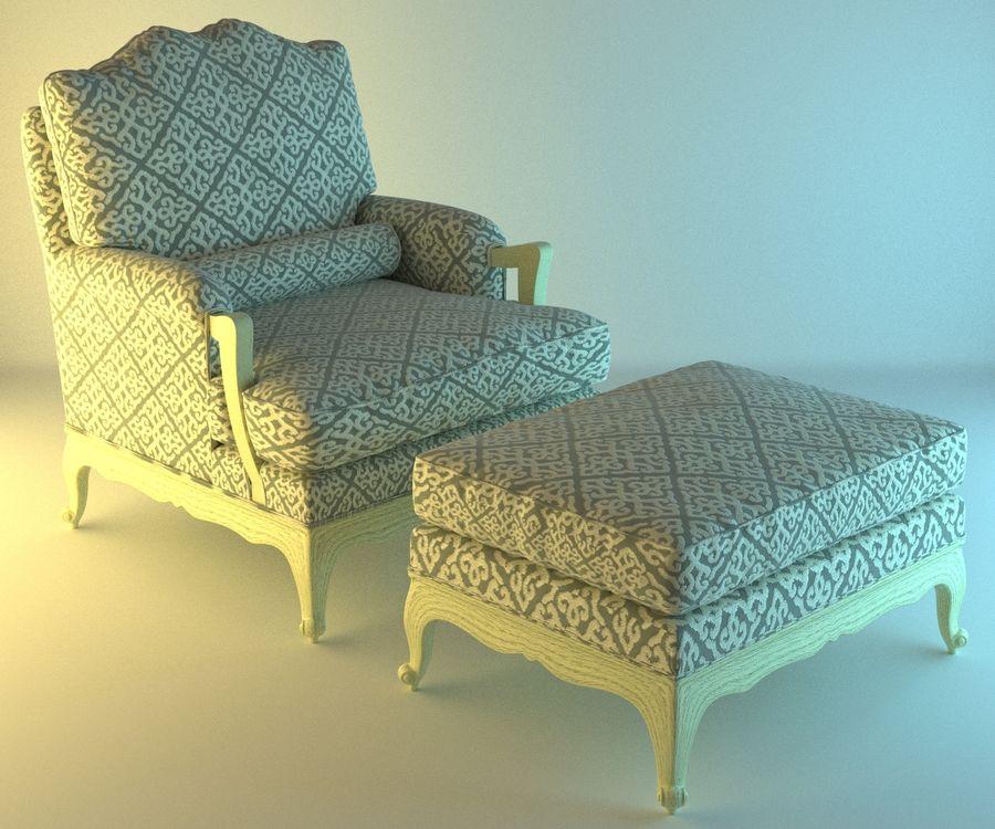 Koltuk 20 dinlenme royalty-free 3d model - Preview no. 1