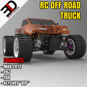 RC OFF ROAD TRUCK 3d model