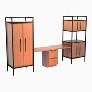 montaż szafy 3d model