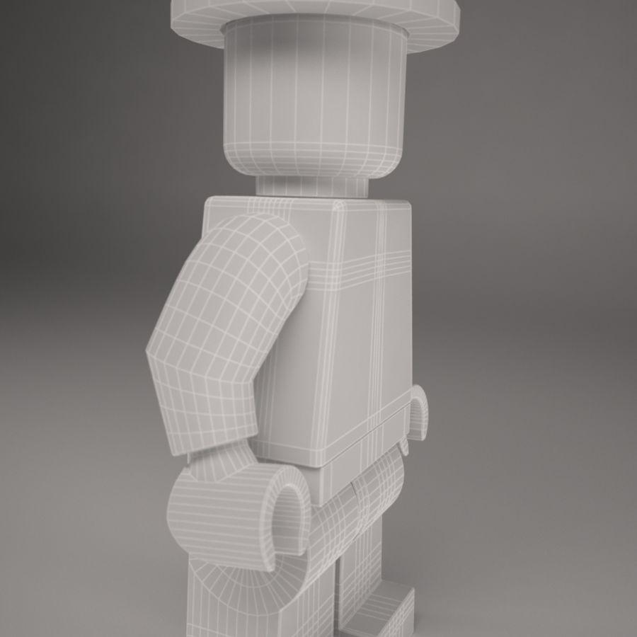 Lego karaktär royalty-free 3d model - Preview no. 10