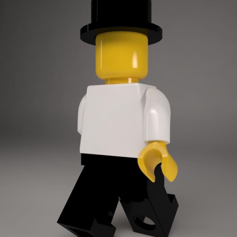 Lego karaktär royalty-free 3d model - Preview no. 4