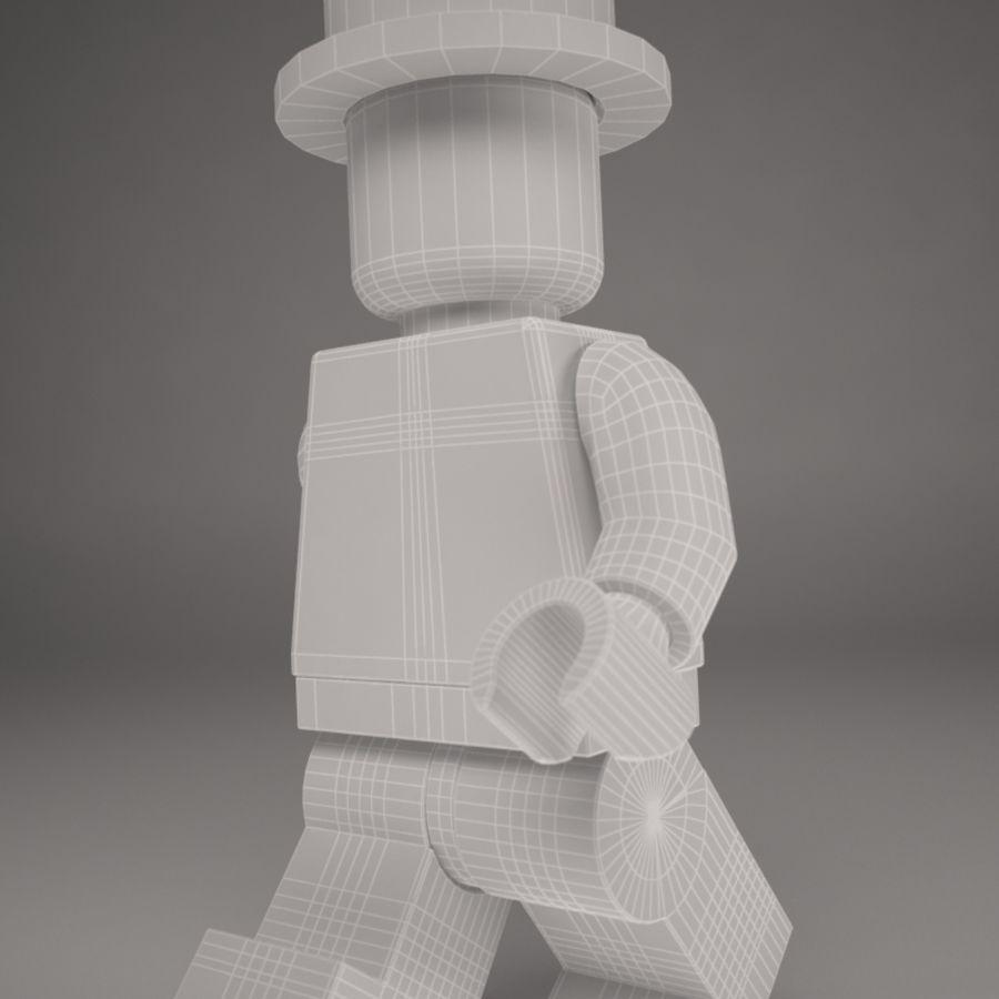 Lego karaktär royalty-free 3d model - Preview no. 8