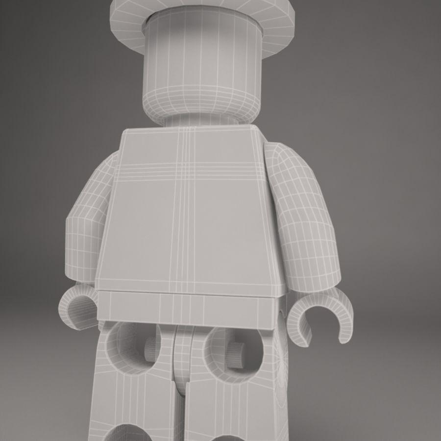 Lego karaktär royalty-free 3d model - Preview no. 9