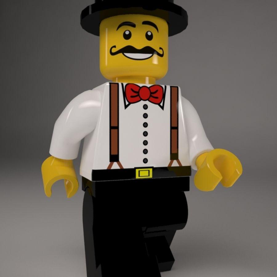 Lego karaktär royalty-free 3d model - Preview no. 1