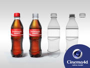 Coke PET bottle 3d model