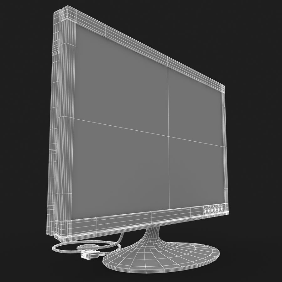 Computer Screen royalty-free 3d model - Preview no. 12