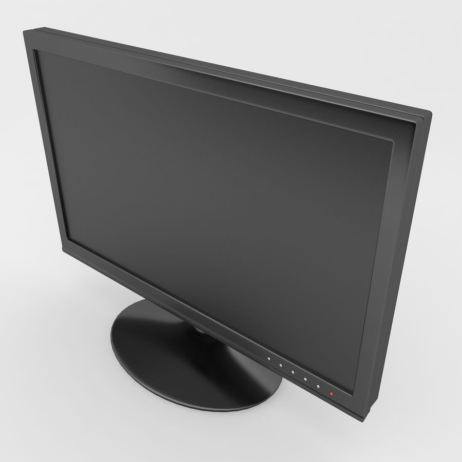Computer Screen royalty-free 3d model - Preview no. 4