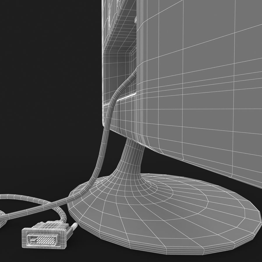 Computer Screen royalty-free 3d model - Preview no. 13