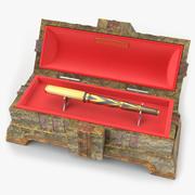 Pen Box 3d model