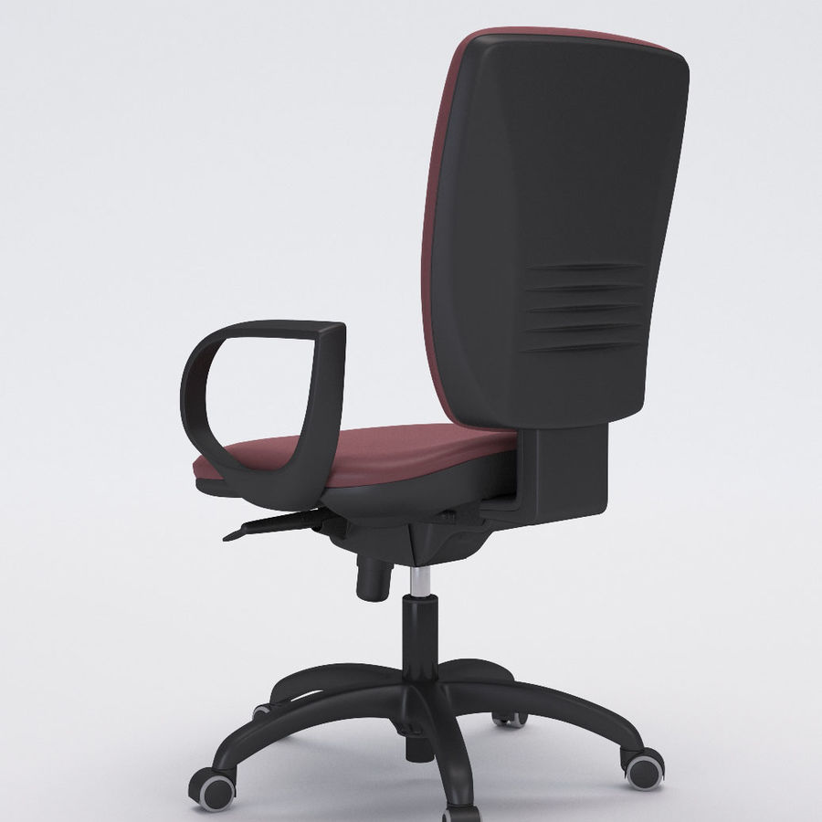 Collezione Office Chair 3 royalty-free 3d model - Preview no. 5