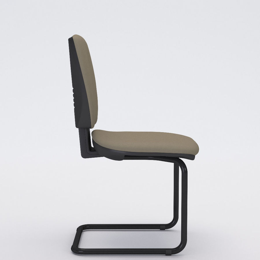Collezione Office Chair 3 royalty-free 3d model - Preview no. 15