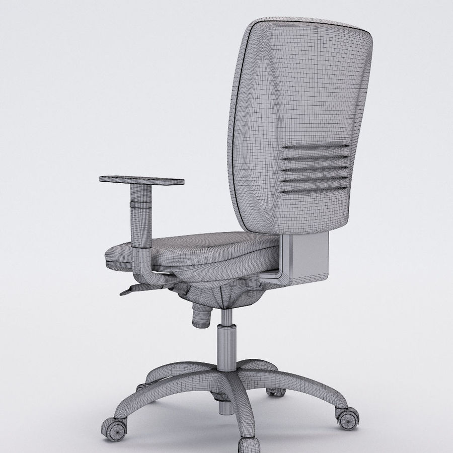 Collezione Office Chair 3 royalty-free 3d model - Preview no. 20
