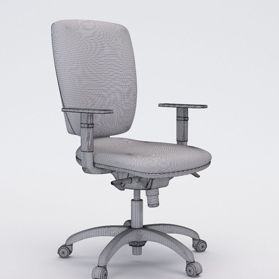 Collezione Office Chair 3 royalty-free 3d model - Preview no. 19