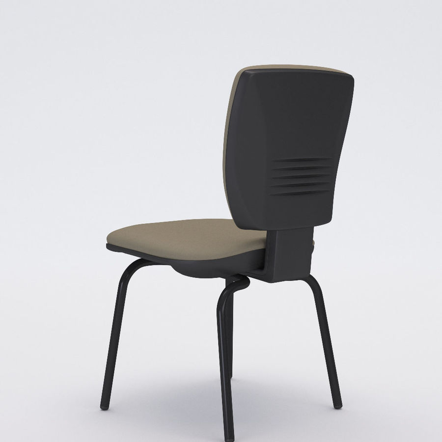 Collezione Office Chair 3 royalty-free 3d model - Preview no. 12