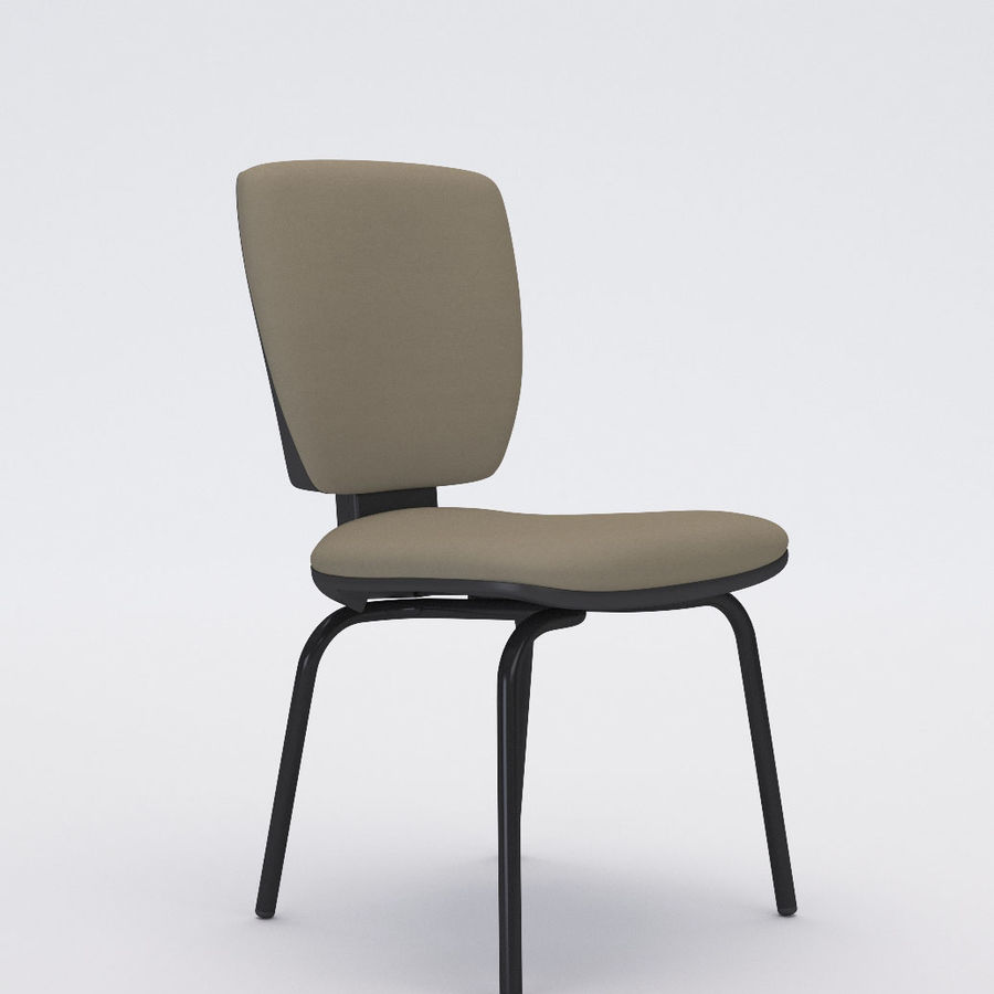 Collezione Office Chair 3 royalty-free 3d model - Preview no. 10