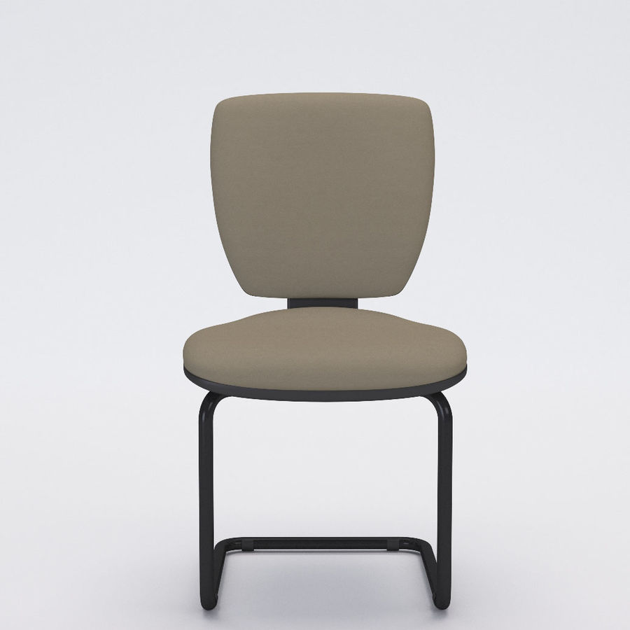 Collezione Office Chair 3 royalty-free 3d model - Preview no. 13