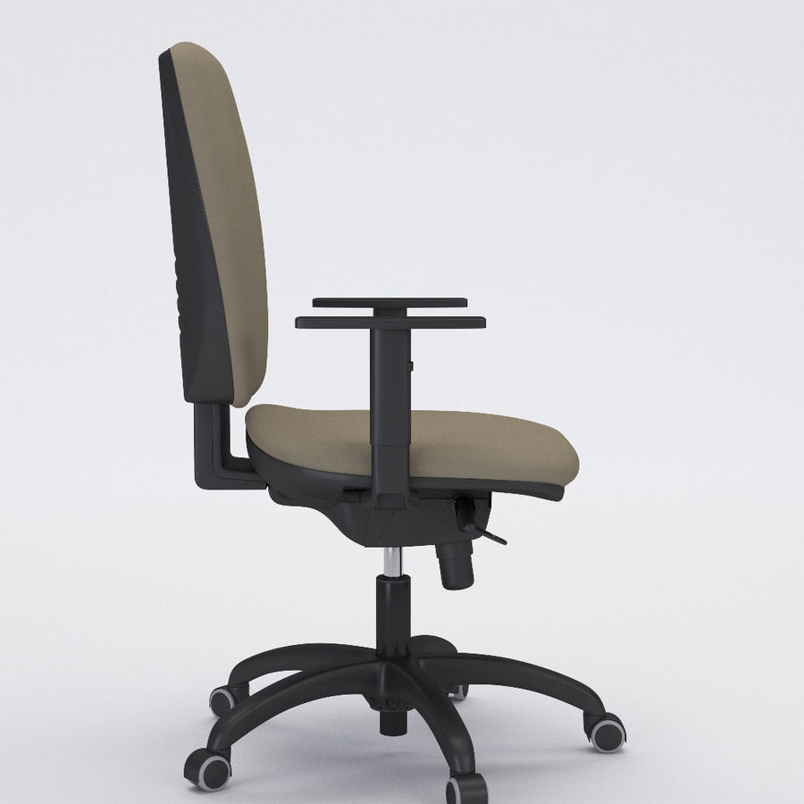 Collezione Office Chair 3 royalty-free 3d model - Preview no. 8