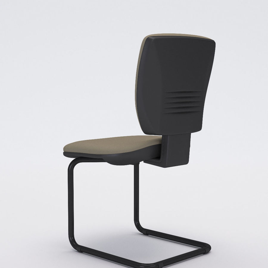 Collezione Office Chair 3 royalty-free 3d model - Preview no. 16