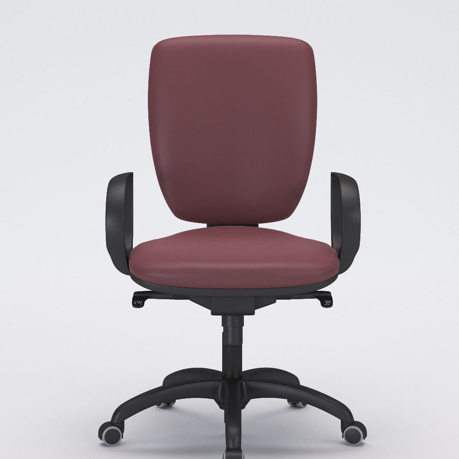 Collezione Office Chair 3 royalty-free 3d model - Preview no. 2