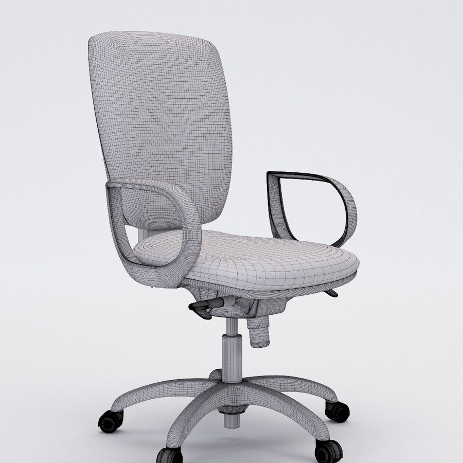Collezione Office Chair 3 royalty-free 3d model - Preview no. 17