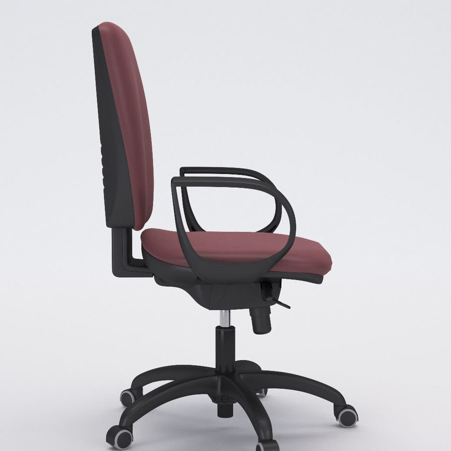 Collezione Office Chair 3 royalty-free 3d model - Preview no. 4