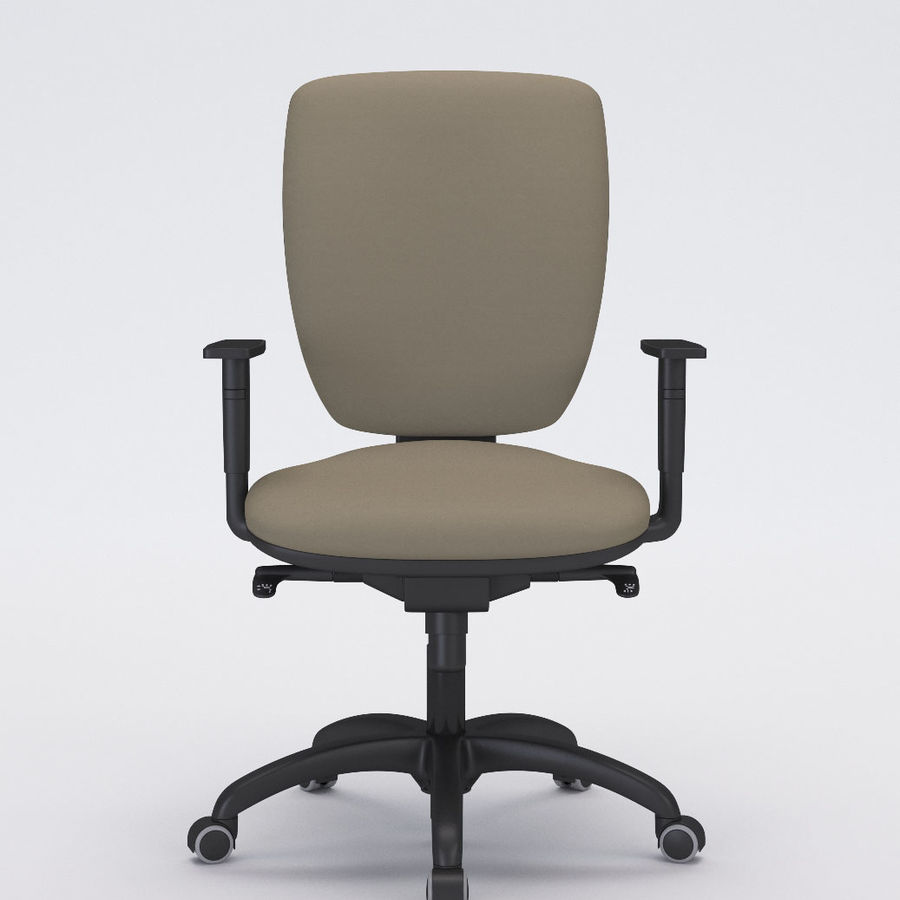 Collezione Office Chair 3 royalty-free 3d model - Preview no. 6