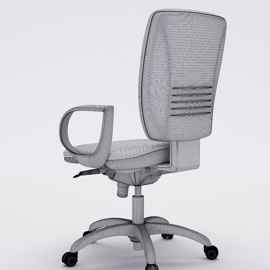 Collezione Office Chair 3 royalty-free 3d model - Preview no. 18