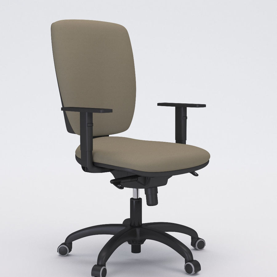 Collezione Office Chair 3 royalty-free 3d model - Preview no. 7