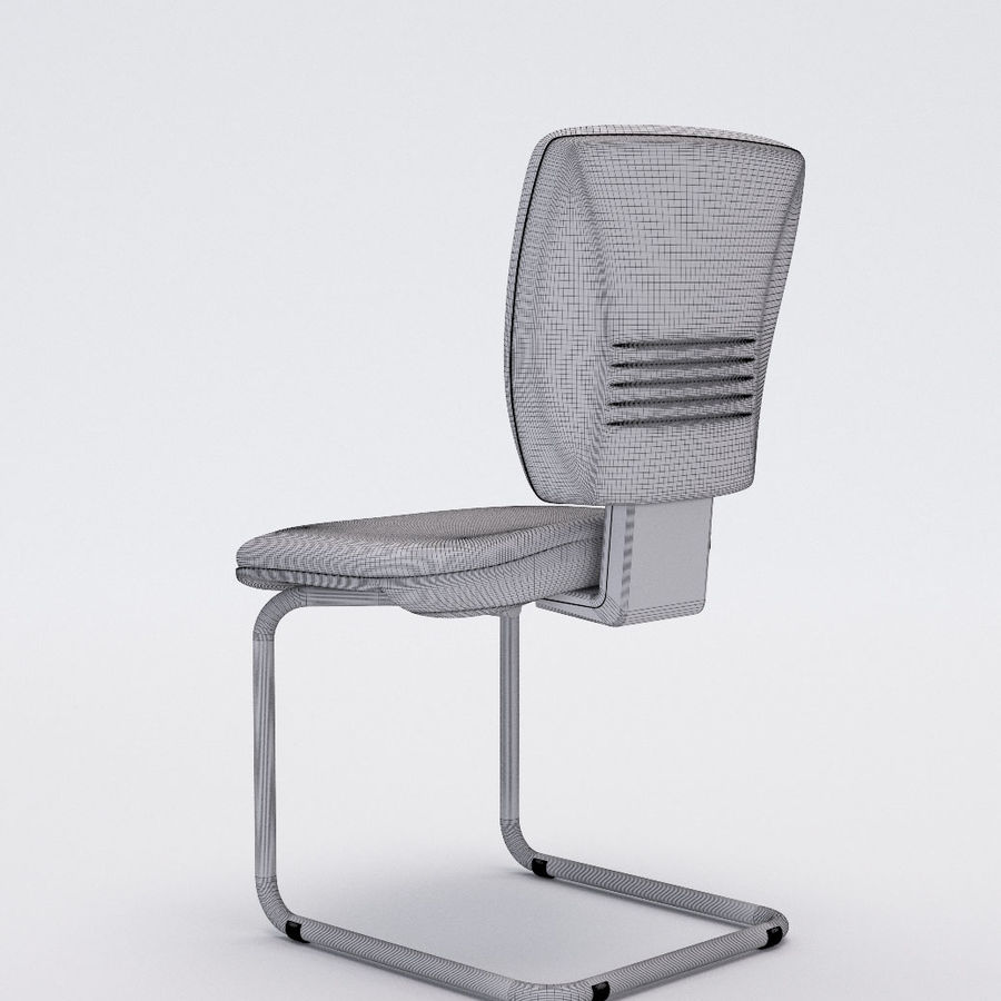Collezione Office Chair 3 royalty-free 3d model - Preview no. 24