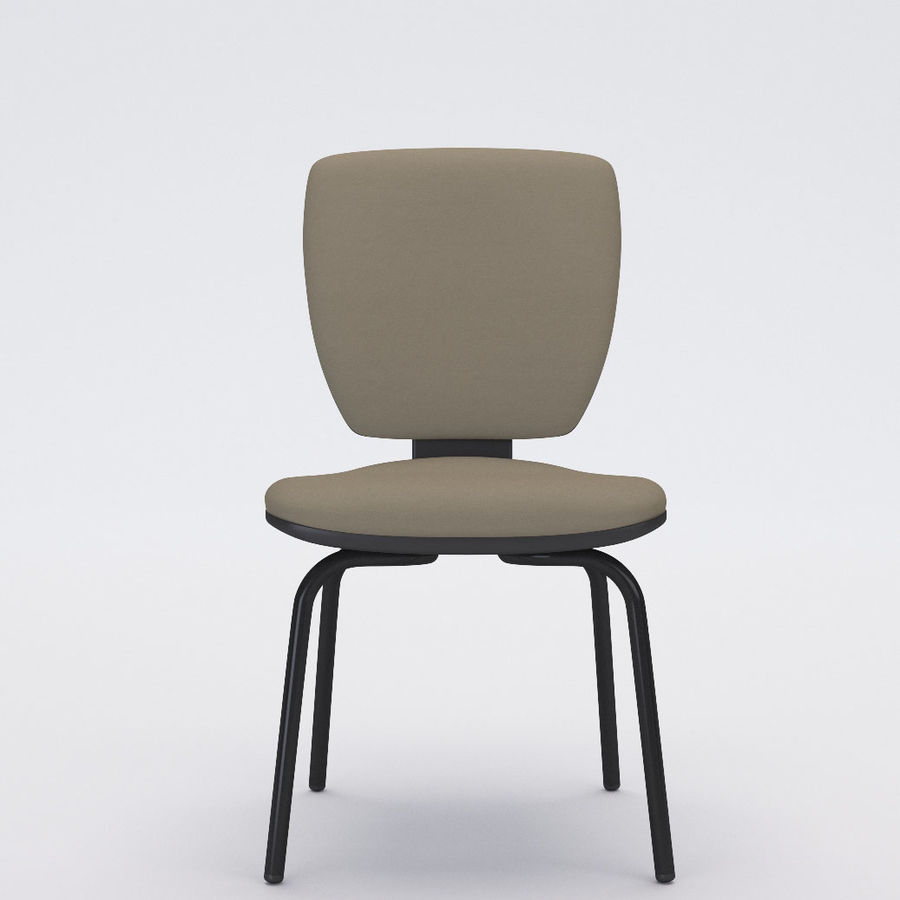 Collezione Office Chair 3 royalty-free 3d model - Preview no. 9
