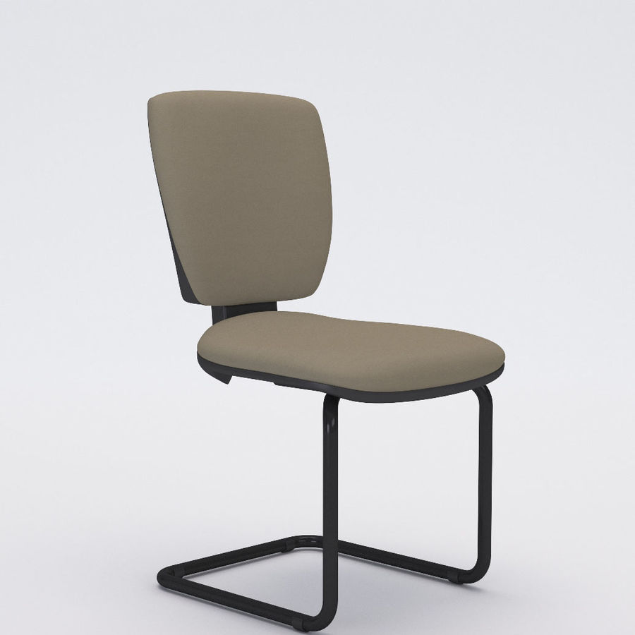 Collezione Office Chair 3 royalty-free 3d model - Preview no. 14