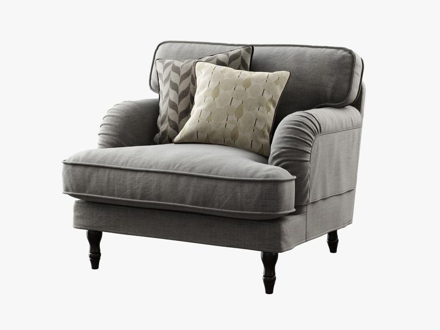 Astounding Ikea Stocksund Armchair 3D Model 25 Obj Max Free3D Dailytribune Chair Design For Home Dailytribuneorg