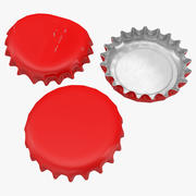 Kolekcja modeli czapek 3D 3d model