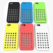 iPhone 5c Kılıfı 3D Model Seti 3d model