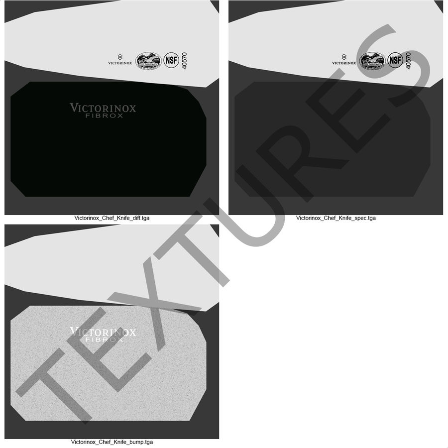刀3D模型集合 royalty-free 3d model - Preview no. 48