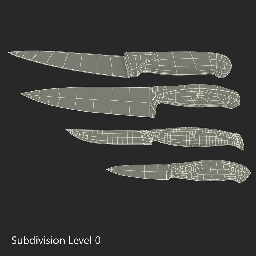 刀3D模型集合 royalty-free 3d model - Preview no. 34