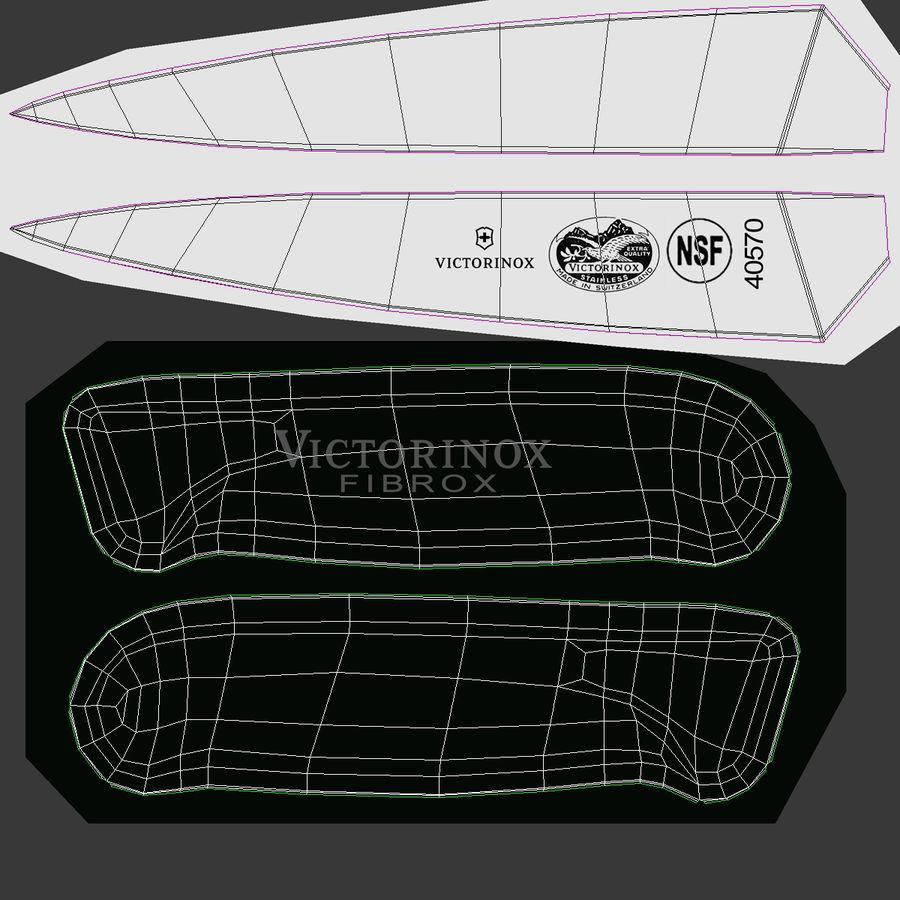 刀3D模型集合 royalty-free 3d model - Preview no. 44