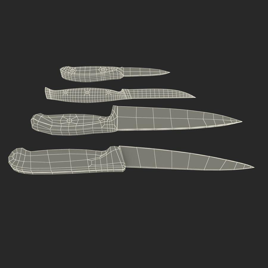 刀3D模型集合 royalty-free 3d model - Preview no. 49