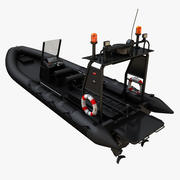 bote inflable modelo 3d