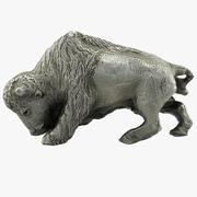 Metal Bull 3d model
