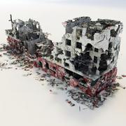 ruínas 3d model