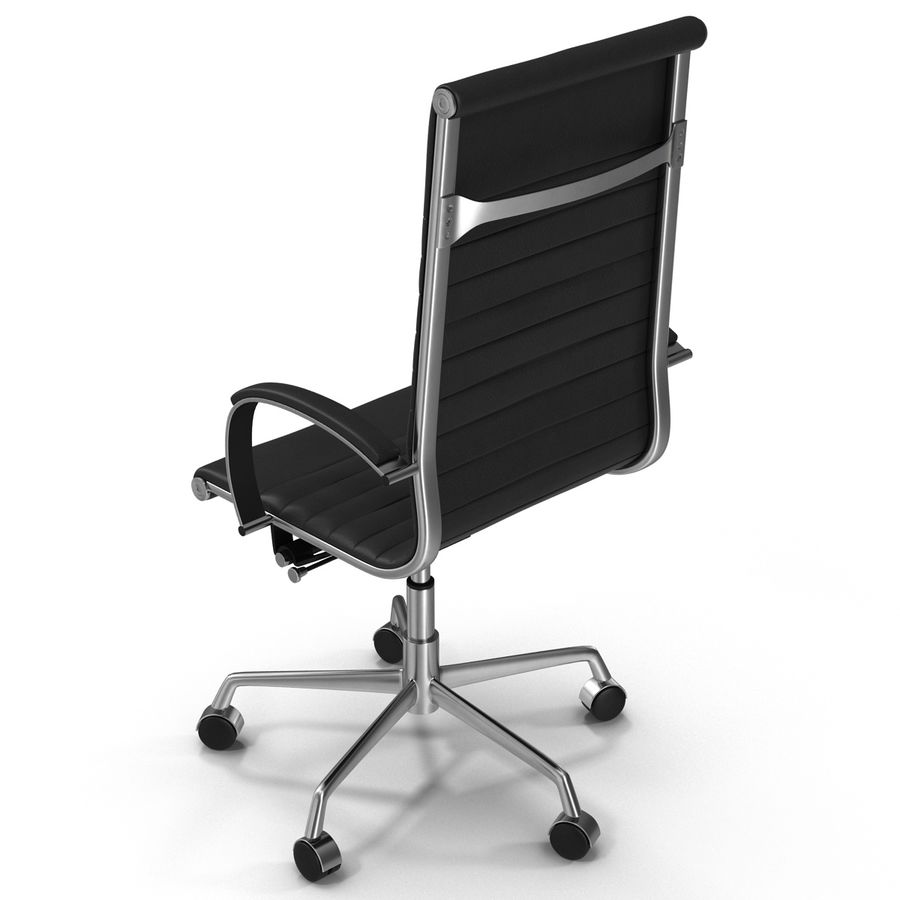 Office Chair 4 3D Model royalty-free 3d model - Preview no. 5