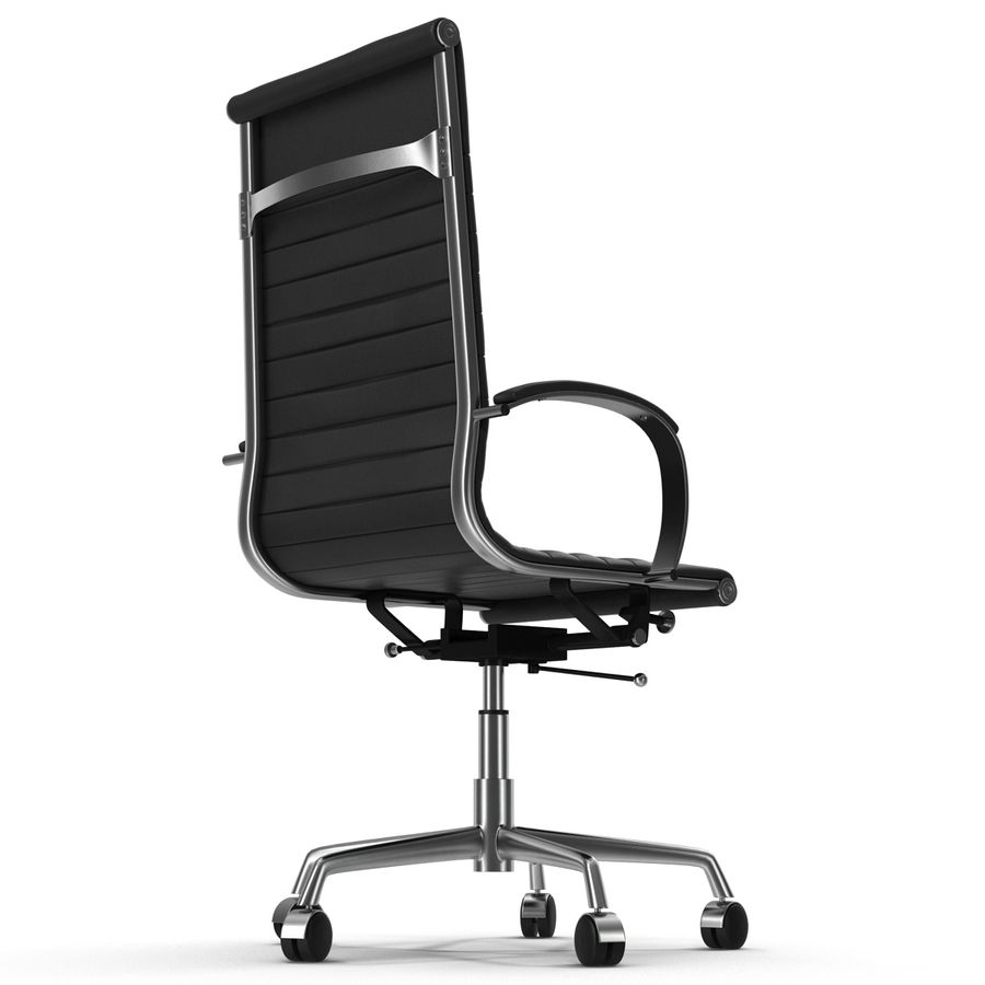 Office Chair 4 3D Model royalty-free 3d model - Preview no. 4