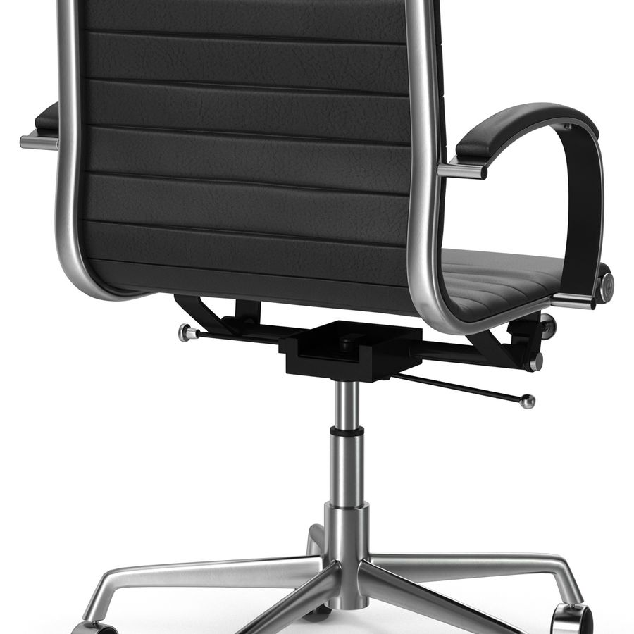 Office Chair 4 3D Model royalty-free 3d model - Preview no. 8