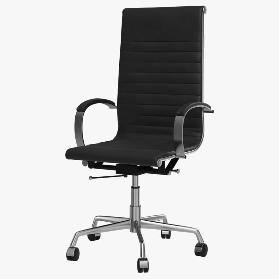 Office Chair 4 3D Model royalty-free 3d model - Preview no. 1