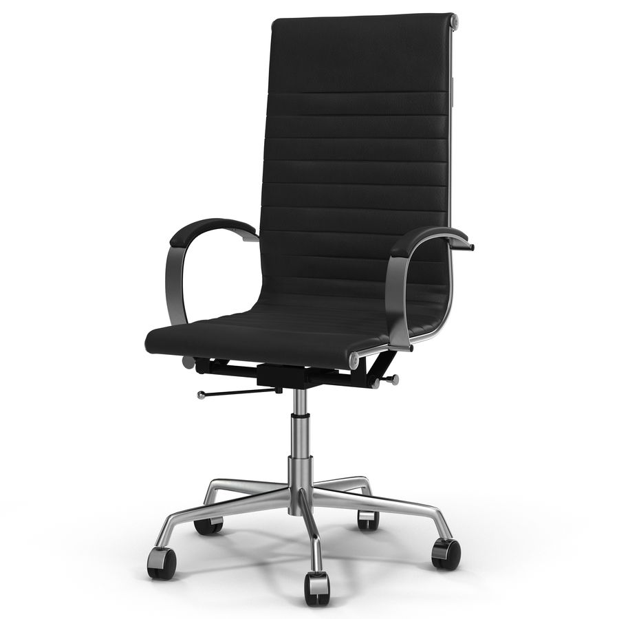 Office Chair 4 3D Model royalty-free 3d model - Preview no. 2