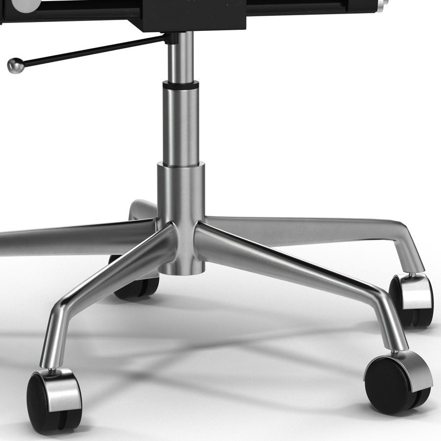 Office Chair 4 3D Model royalty-free 3d model - Preview no. 9