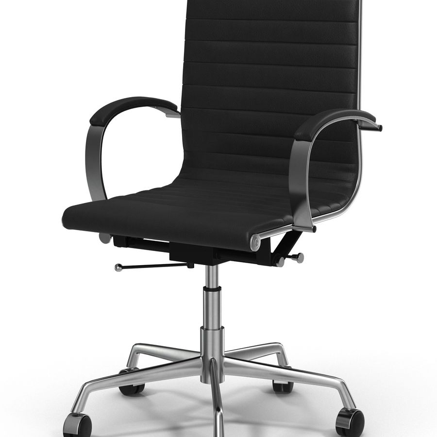 Office Chair 4 3D Model royalty-free 3d model - Preview no. 7