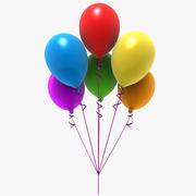 Ballons De Fête 3d model